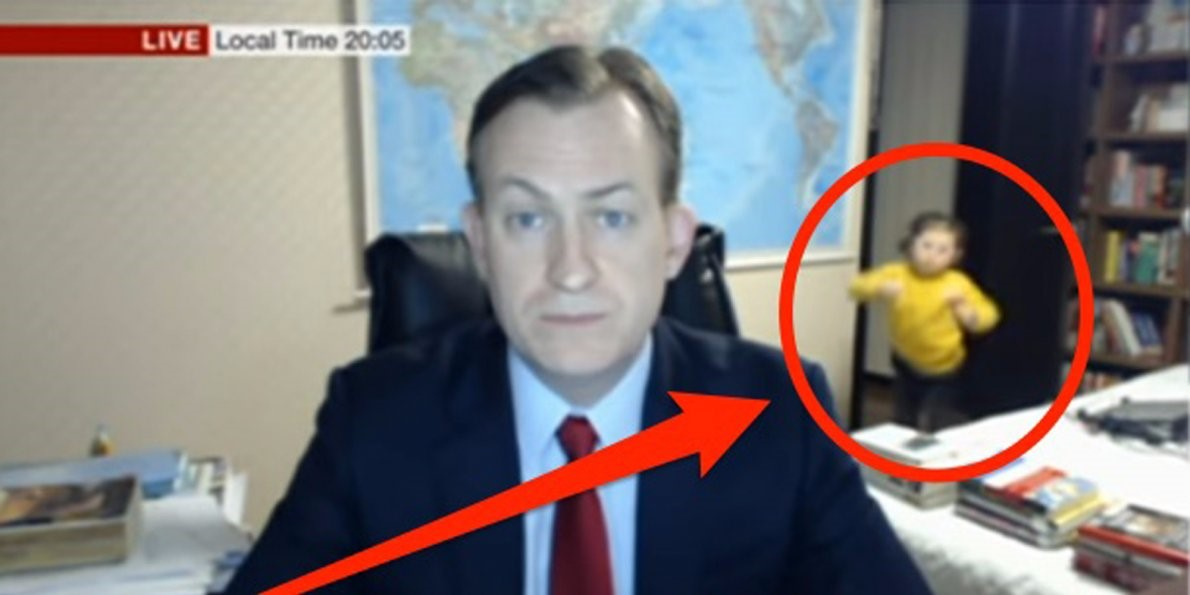 BBC Dad Video